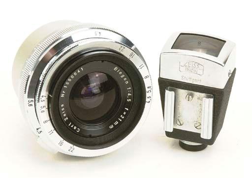 Biogon f/4.5 21mm. no. 1550041