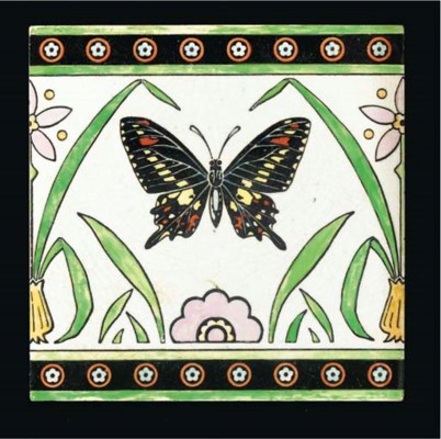 CHRISTOPHER DRESSER; TILE