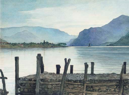 CLEMENT HEATON; WATERCOLOUR