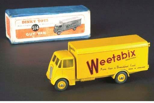 A Dinky yellow 514 Guy Weetabi