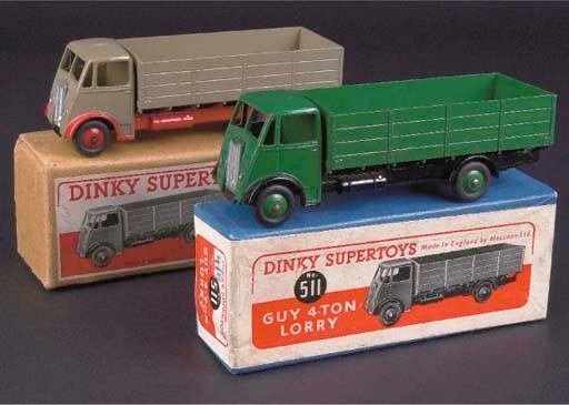 Dinky 511 Guy 4-Ton Lorries