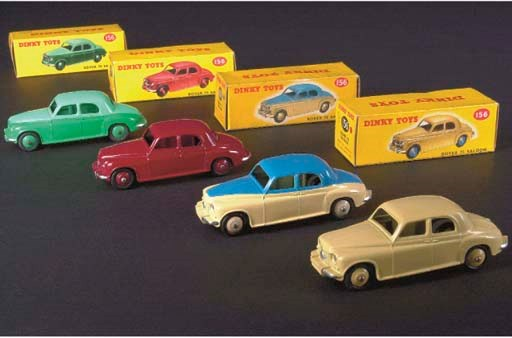 Dinky 156 Rover 75 Saloons