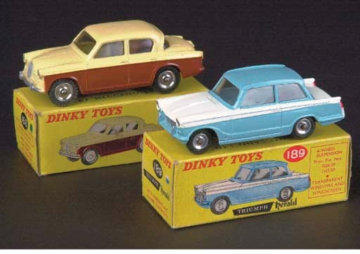 Dinky Rootes and Triumph Cars