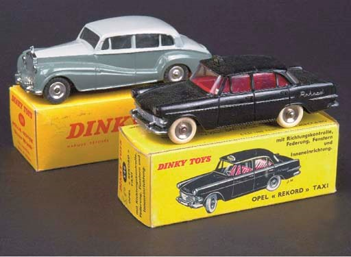 Dinky French Factory Cars