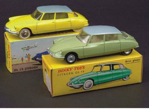 Dinky French Factory Citroën D