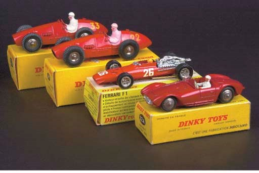 Dinky French Factory Racing Ca