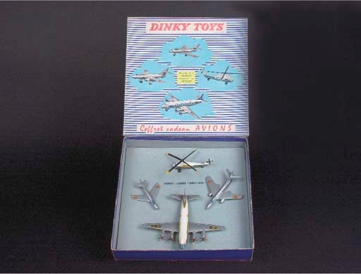 A  Dinky French Factory Aircra