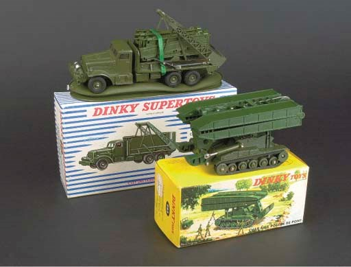 Dinky French Factory Military