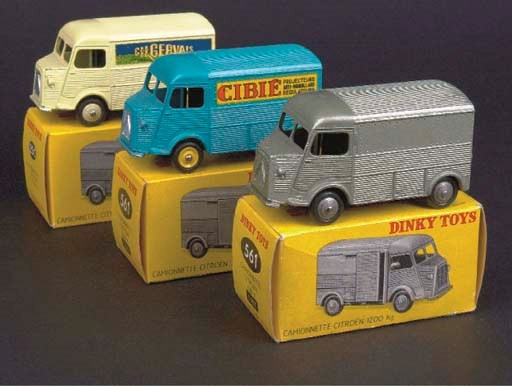 Dinky French Factory Citroën H