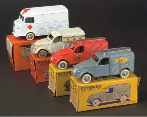 JRD Citroën Vans