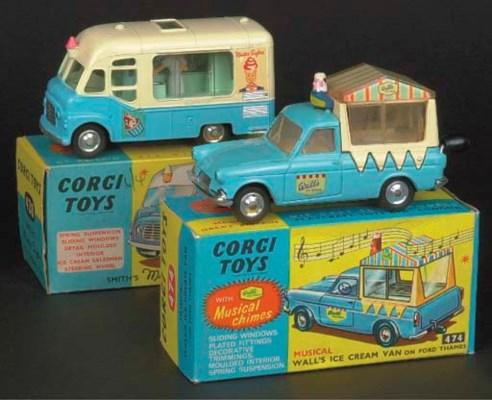 Corgi Ice Cream Vans