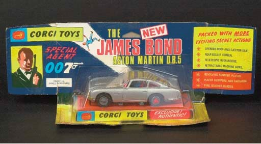 A Corgi silver 270 James Bond'