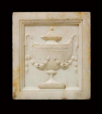 A late George III statuary mar