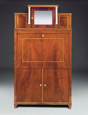 A North European mahogany and