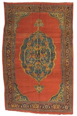 An antique Bijar carpet, West