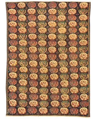 An unusual Seychour rug