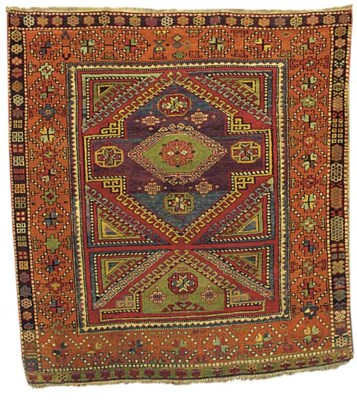 An antique Yuruk rug