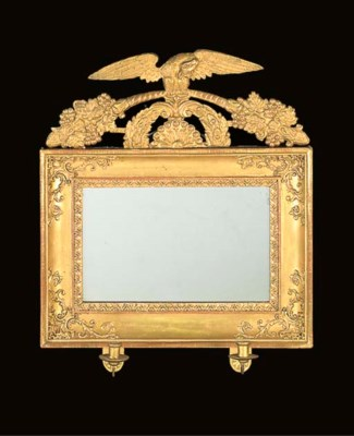 A PAIR OF SWEDISH GILTWOOD AND