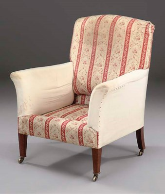 A Howard and Sons armchair