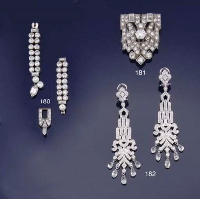 Three diamond fittings