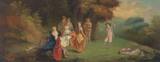 Manner of Jean-Antoine Watteau