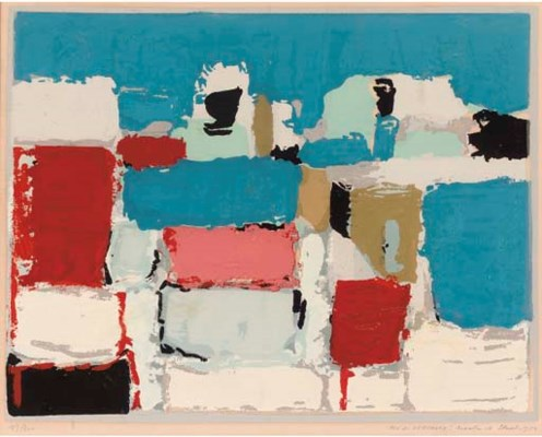 After Nicolas de Stael (1914-1