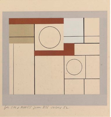 After Ben Nicholson (1894-1982