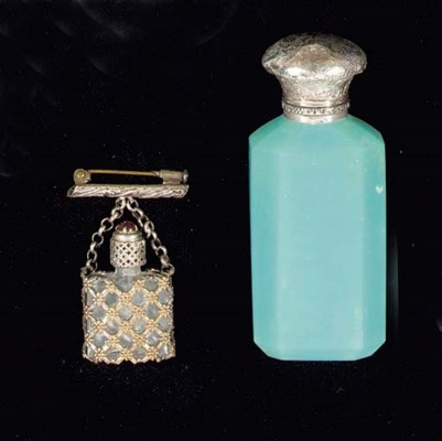 Seven various scent bottles