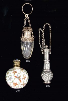 A group of eight scent bottles