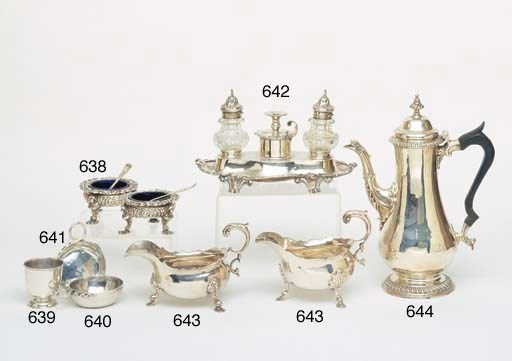 A GEORGE II STERLING SILVER TO