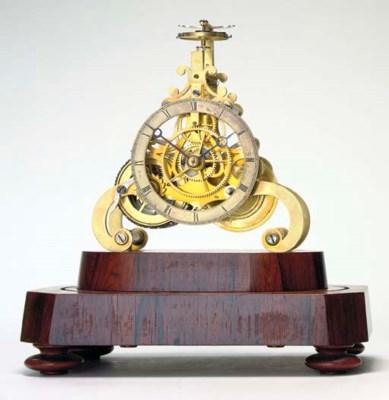 An unusual Victorian brass scr