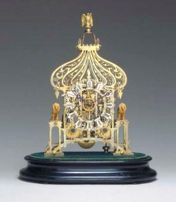 A Victorian brass Brighton Pav