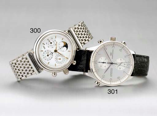 IWC. A RARE LIMITED EDITION PL