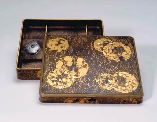 A GROUP OF JAPANESE LACQUER TA