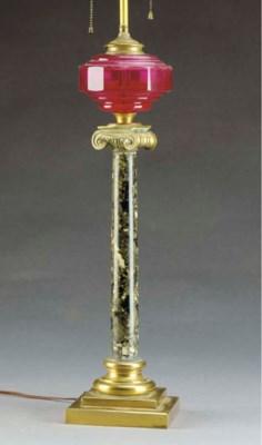 TWO COLUMN-FORM FLUID LAMPS,