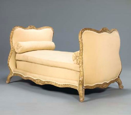 A GERMAN ROCOCO GILTWOOD LIT D