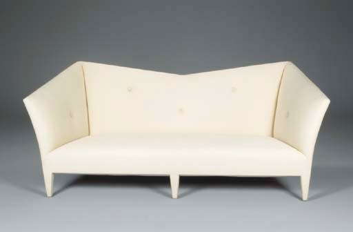 A PAIR OF CONTEMPORARY SOFAS U