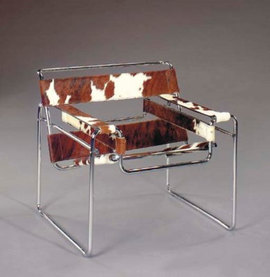 A TUBULAR STEEL AND COWHIDE UP