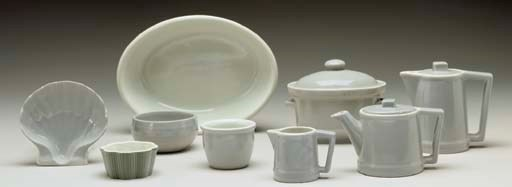 A selection of Hall China from