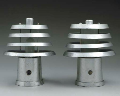 A pair of lamps from the first