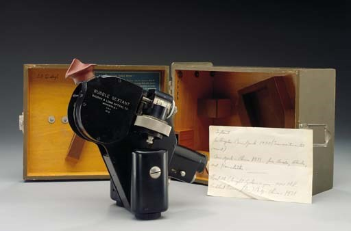 A Bausch & Lomb bubble sextant