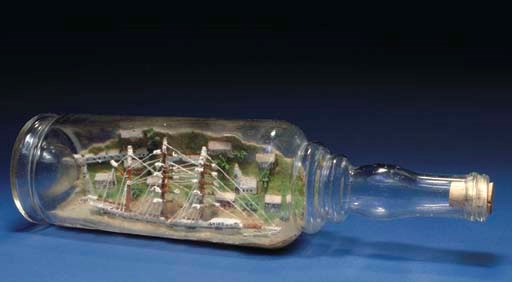 A ship in the bottle of the El