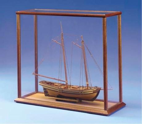A model of the Pilot schooner