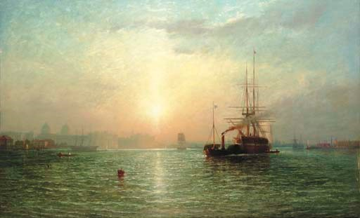 James Francis Danby (British,