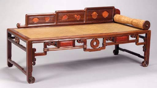 A CHINESE CARVED HARDWOOD CANE