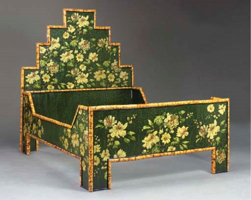 A VICTORIAN STYLE BAMBOO AND F