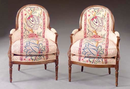A PAIR OF LOUIS XV/XVI STYLE T