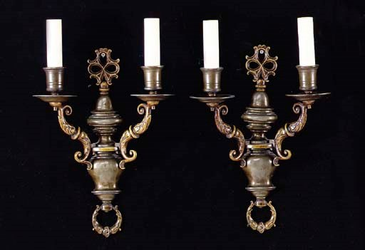A SET OF FOUR BAROQUE STYLE PA