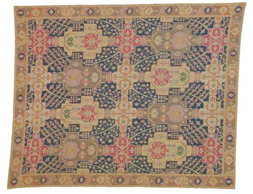 A NEEDLEPOINT CARPET,