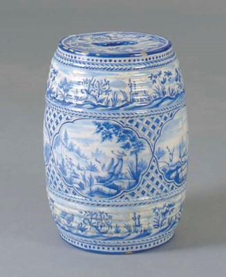 A CHINESE BLUE AND WHITE EARTH